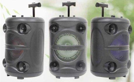 Prenosný multimediálny prehrávač Bluetooth 15W MP3 USB FM rádio.