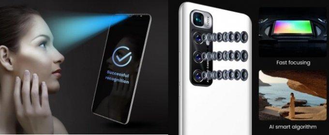 Mobilný telefón m10 plus ,android 10.